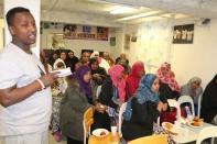 Polisen besökte Somaliska Freds och svarade på frågor