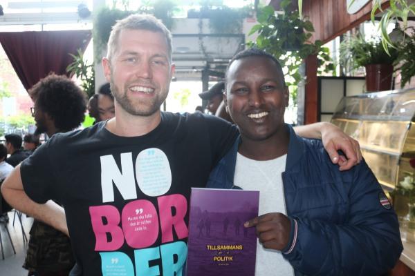 Tyfons avslutningsfest 2016 - Linus Kullving och Hashim Abdikarem