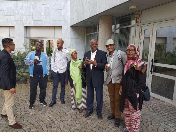 Somaliska Paraplyorganisationen - delegation