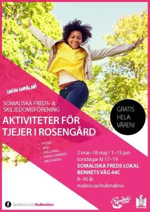 Aktiviteter för tjejer i Rosengård