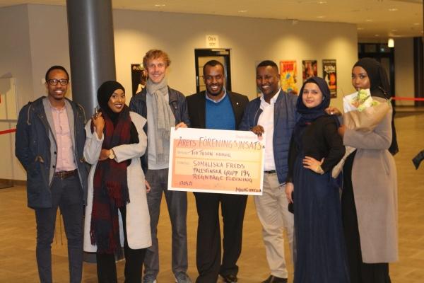 Somaliska Freds Årets föreningsinsats 2016