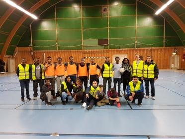Nattfotboll fredagar Herrgårdens Sporthall