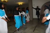 Somaliska Freds dansgrupp uppträdde under Ceremonin för Malmöandan på Rådhuset 2017