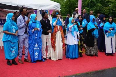 Somaliska nationaldagen 1a juli 2017 - Somaliska Freds och Hidde Iyo Dhaqan