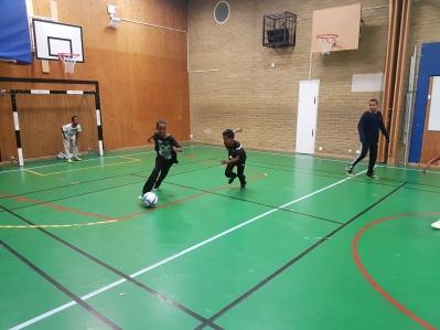 Somaliska Freds fotboll Värnerrydénskolan 2017