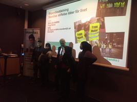 Somaliska Freds deltog på kundträff med Skandia - Trygg Malmö
