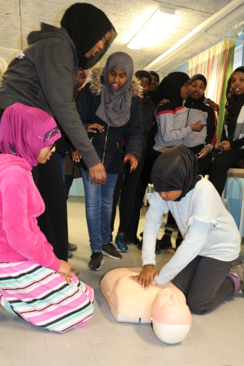 Utbildning Hjärt- och Lungräddning utbildning - Somaliska Freds