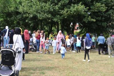 Eid-firande Vattenlekplatsen Rosengård