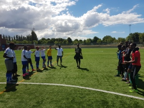 Fotbollsturnering i Rosengård 30e juni