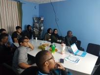 """Fadi Barakat och Julius Mauritzson besökte """"Made in Rosengård"""", Somaliska Freds"""