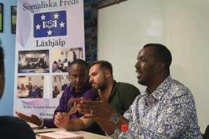 S-politiker besökte Somaliska Freds inför valet 2018